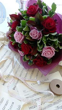 Roses mix Handtied